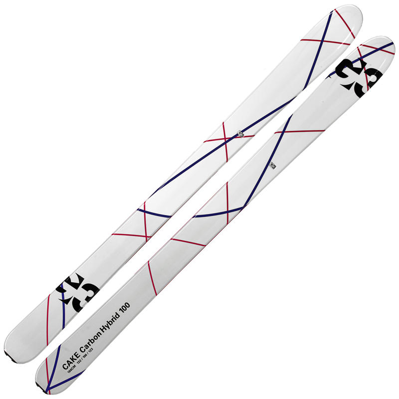 Skis de haute route Cake Hybrid 100 en carbone