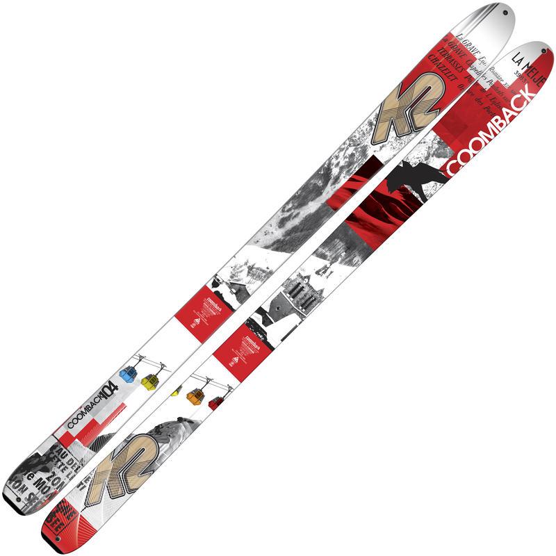 Skis de haute route Coomback 104