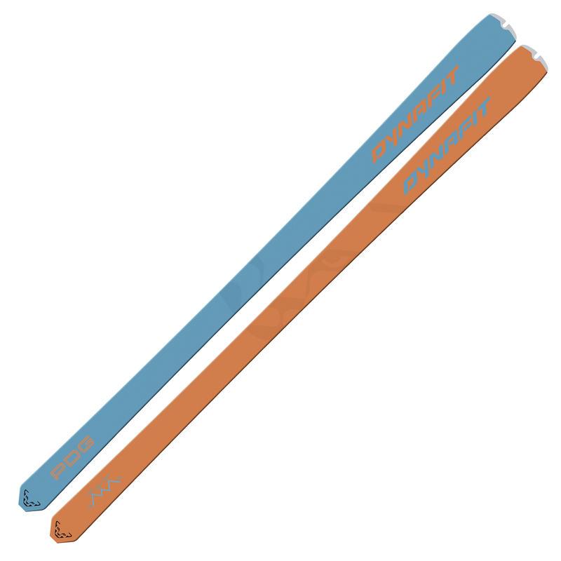 Skis PDG Orange/Bleu