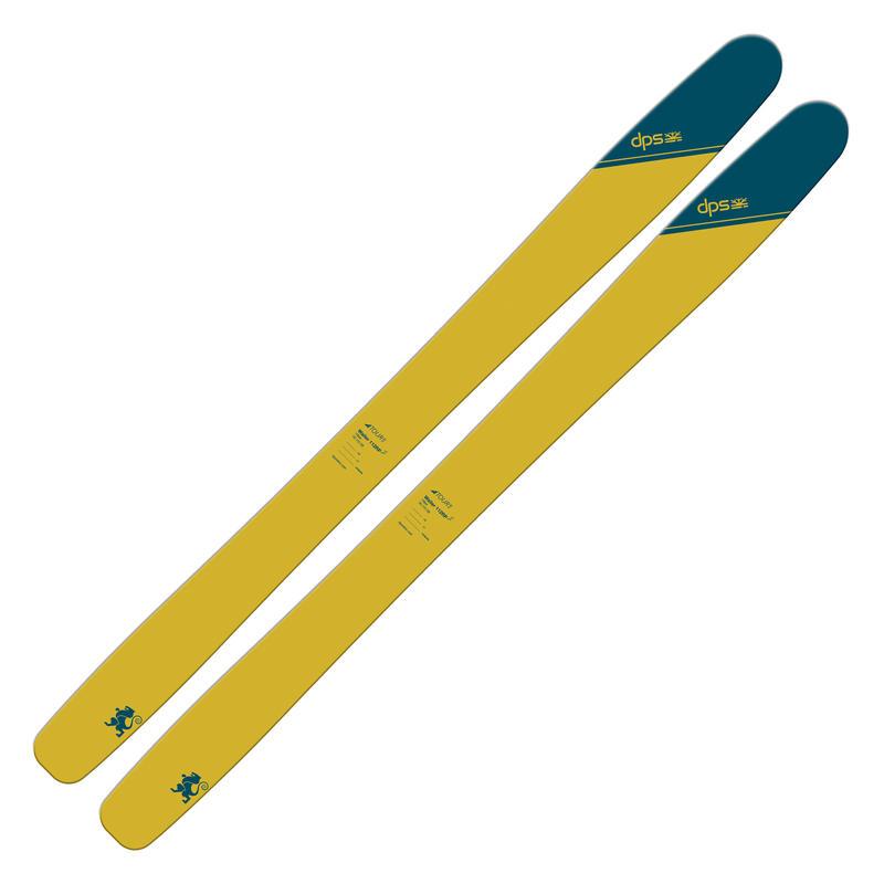 Skis Wailer 112RP2 Tour 1 Tribeca Yellow