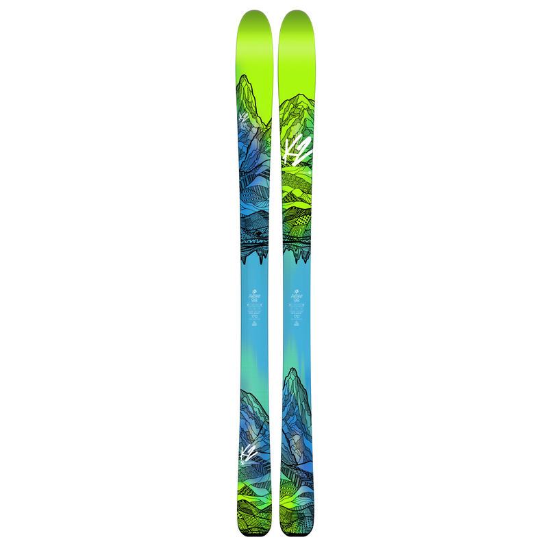 Skis FulLUVit 98Ti
