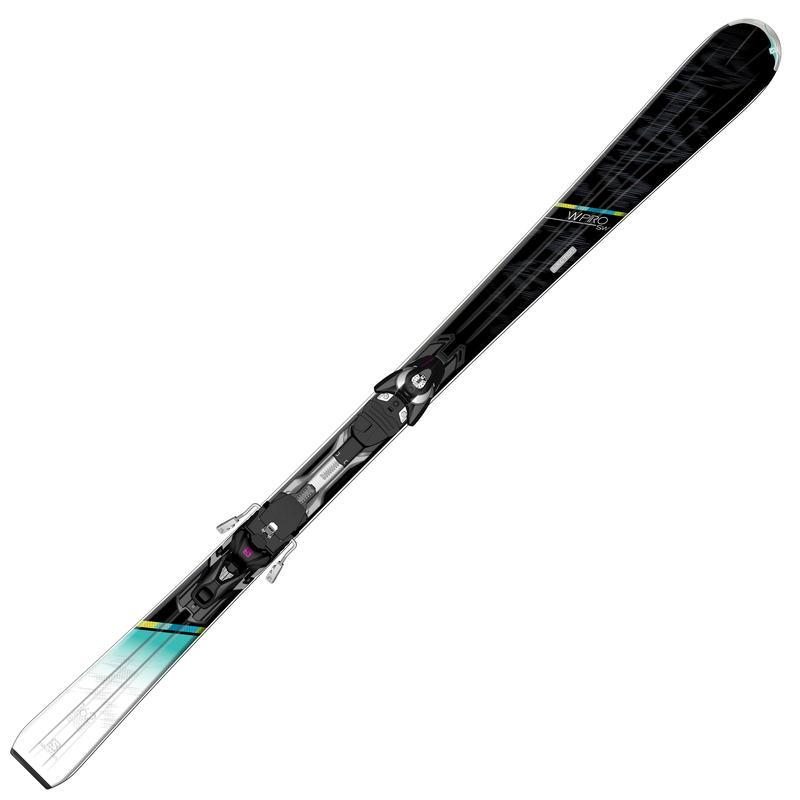 Skis W-Pro SW avec fixations