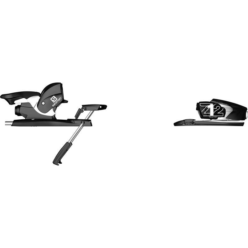 Fixations de ski alpin Z12 Ti Noir/Blanc