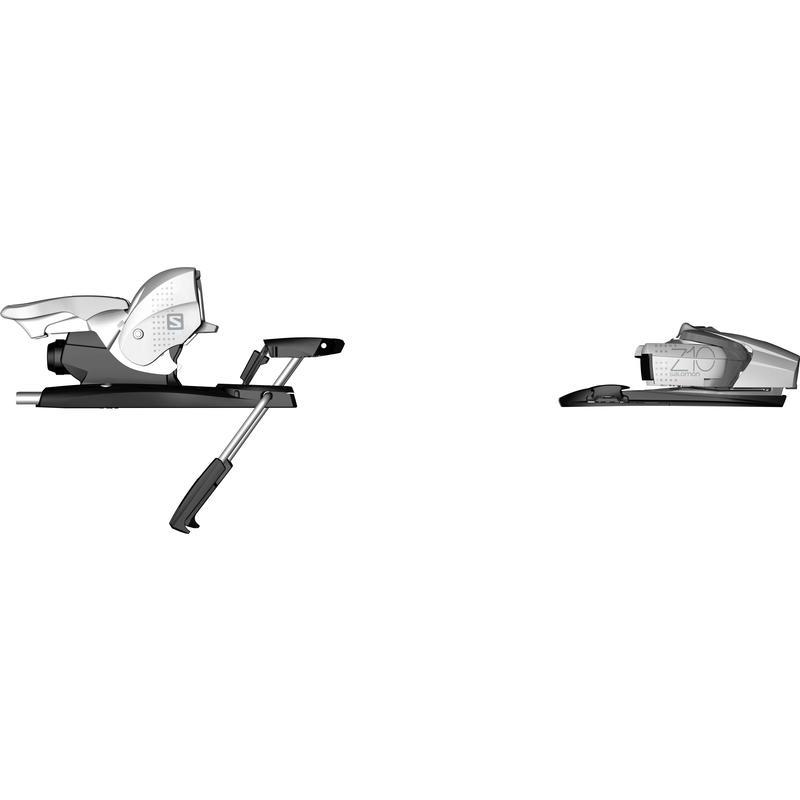 Fixations de ski alpin Z10 Ti Blanc