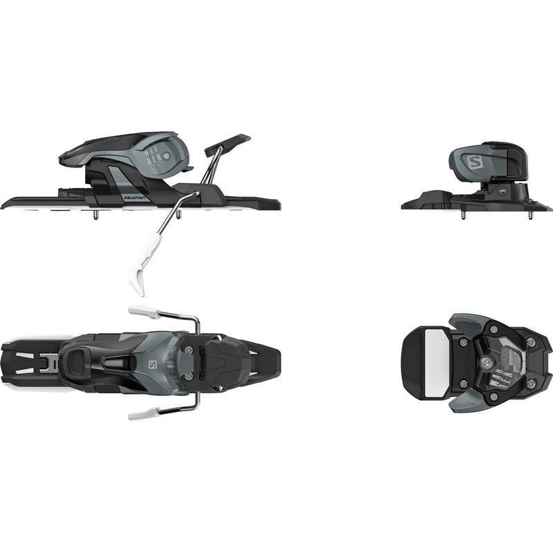 Fixations de ski Warden 11 Gris foncé