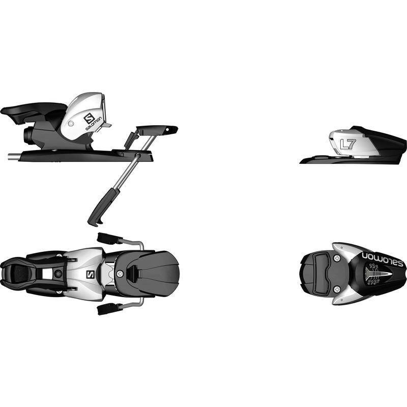 Fixations de ski L7 Junior Noir/Blanc