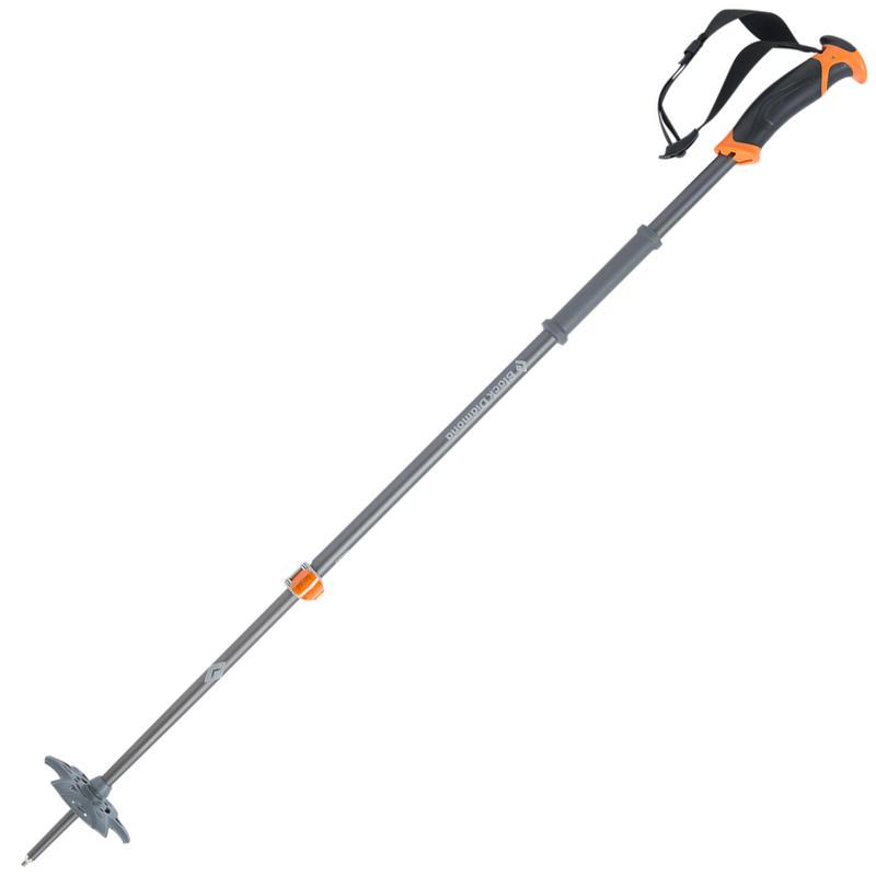 Bâtons de ski Traverse Orange brillant