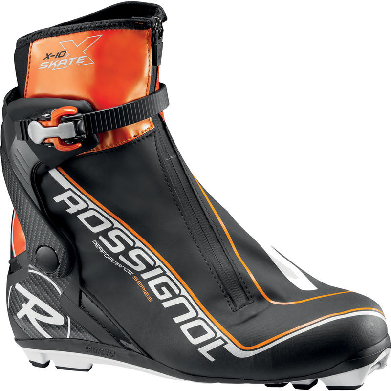 Bottes de ski de patin X10 Skate Noir solaire