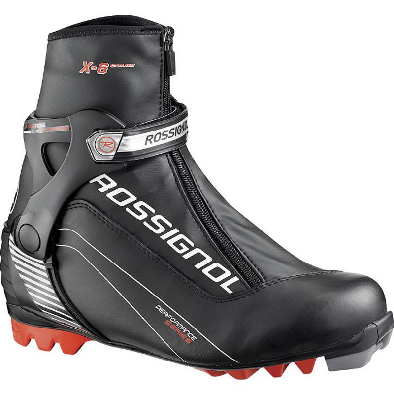 Bottes de ski de patin X6 Combi Noir