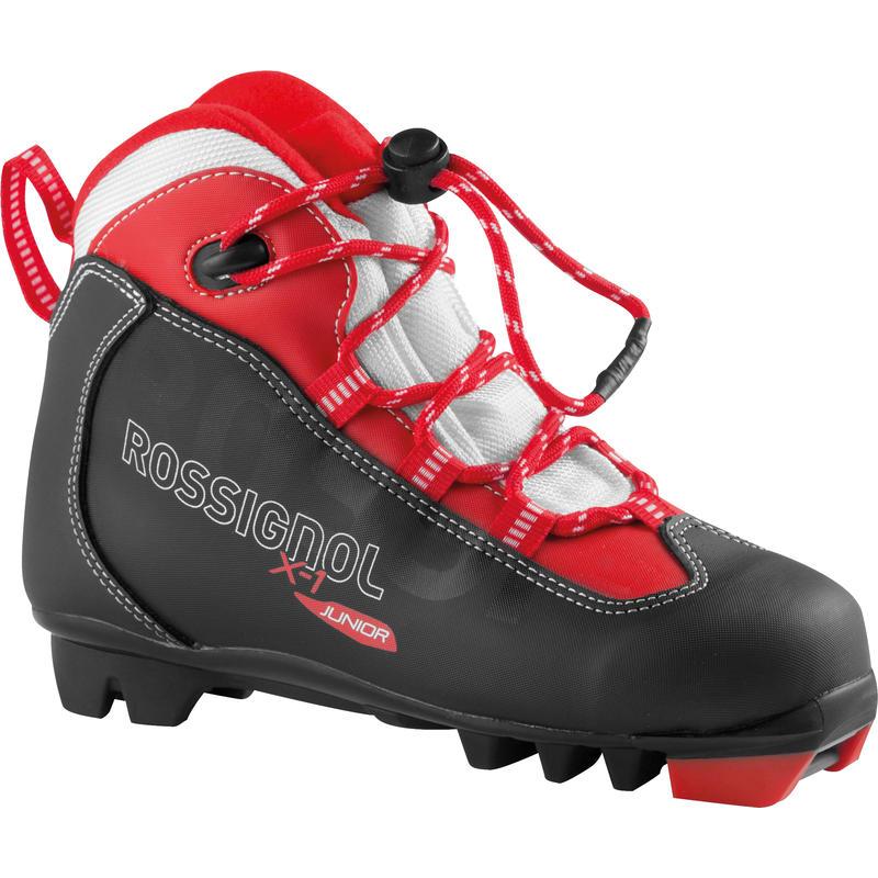 X1 Jr Boots Black/Red