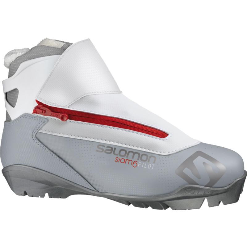 Siam 6 Pilot Boots White/Grey