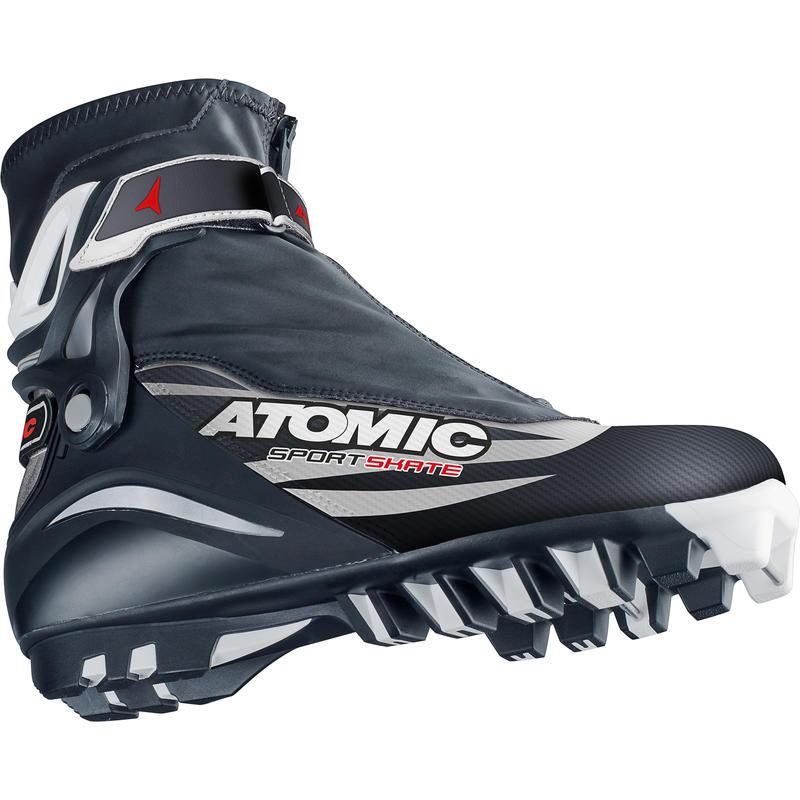 Bottes de ski de patin Sport Noir/Blanc