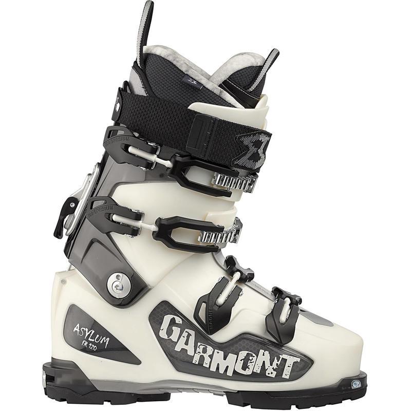 Bottes de ski de haute route Asylum Blanc perle/Fumée