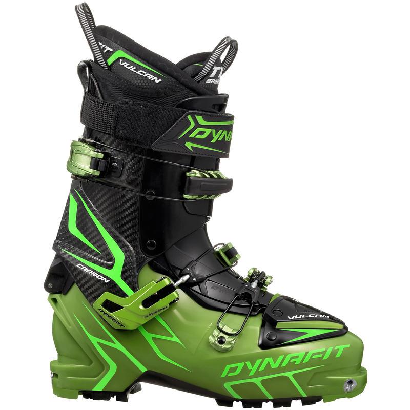 Bottes de ski de haute route Vulcan TF Carbone/Vert