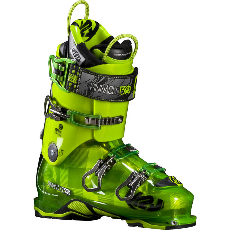 Bottes de ski Pinnacle 130 Green/Green