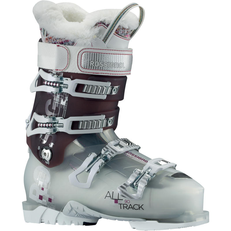 Bottes de ski All Track 90 Pourpre transparent