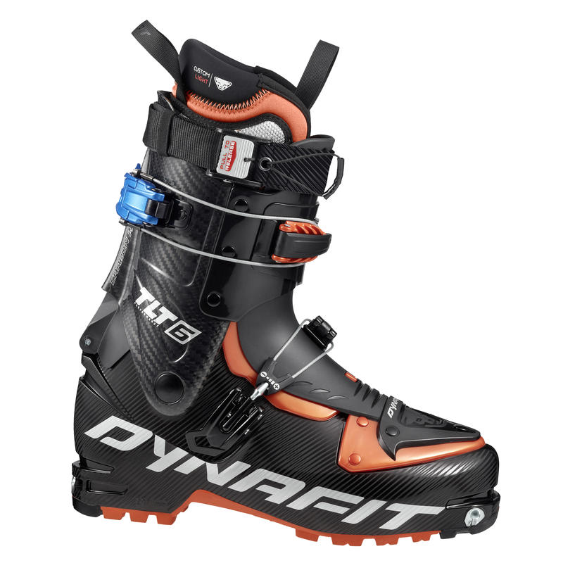 Bottes TLT6 Performance CL Noir/Orange