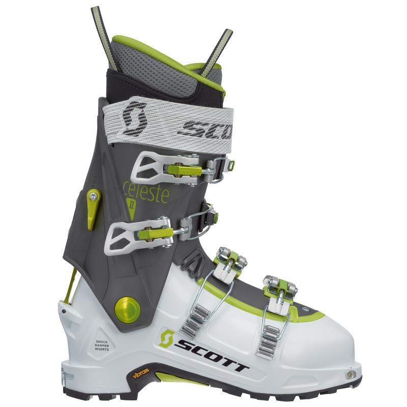 Bottes de ski Celeste II Blanc/Gris