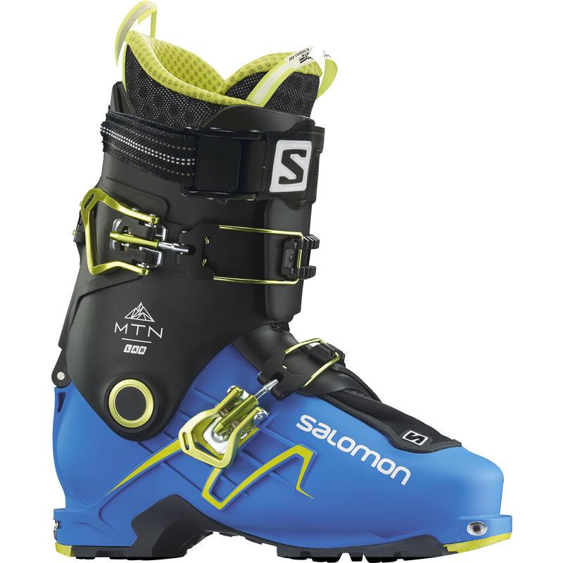 Bottes de ski de haute route Mountain Lab Bleu indigo/Noir