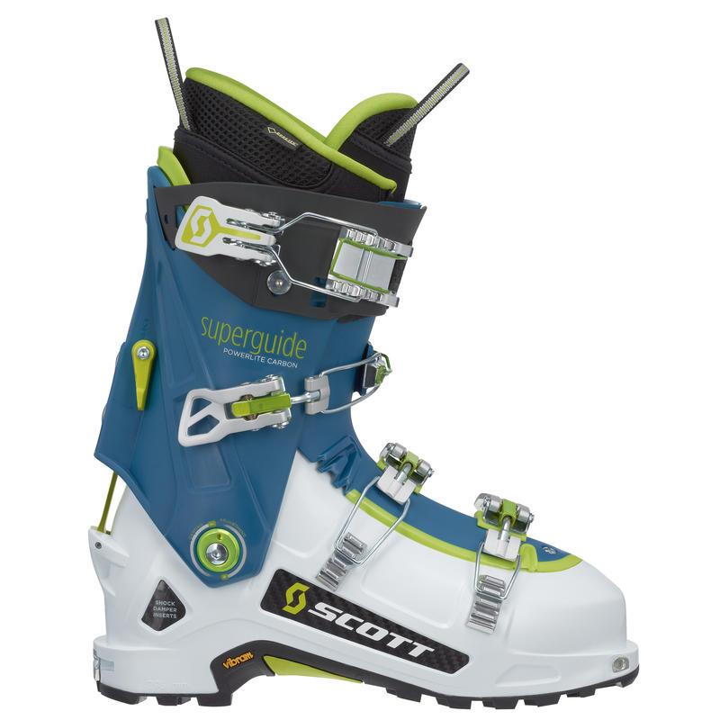 Bottes de ski Superguide en carbone Blanc/Bleu