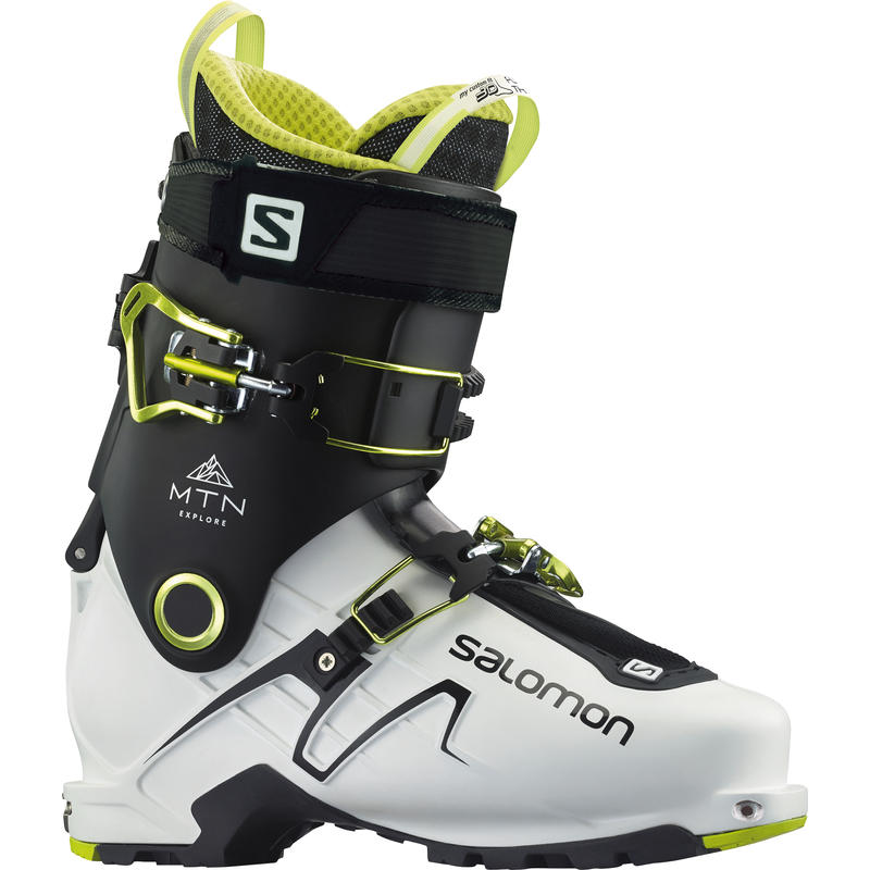 Bottes de ski de haute route Mountain Explore Blanc/Noir