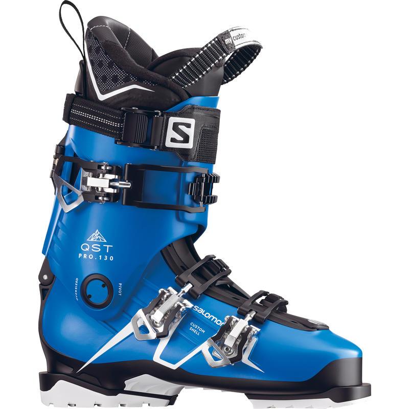 Bottes de ski QST Pro 130 Bleu indigo/Noir/Argent