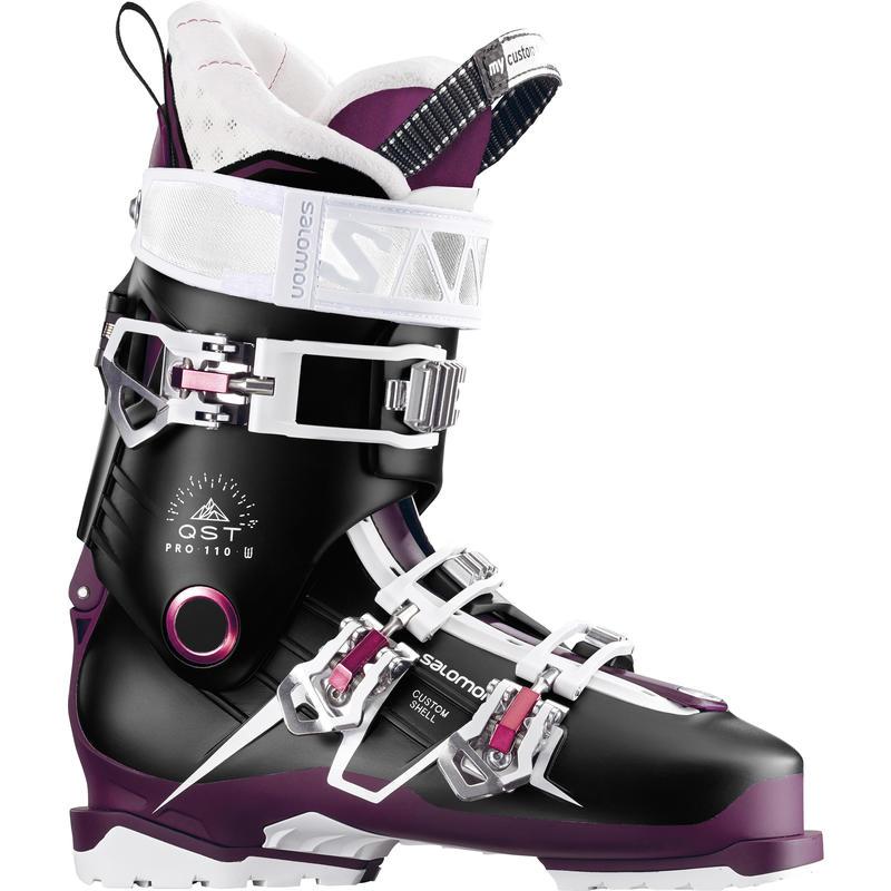 Bottes de ski QST Pro 110 Aubergine/Bourgogne/Rose