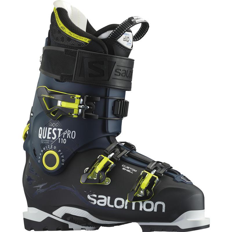 Bottes de ski Quest Pro 110 Noir/Bleu foncé