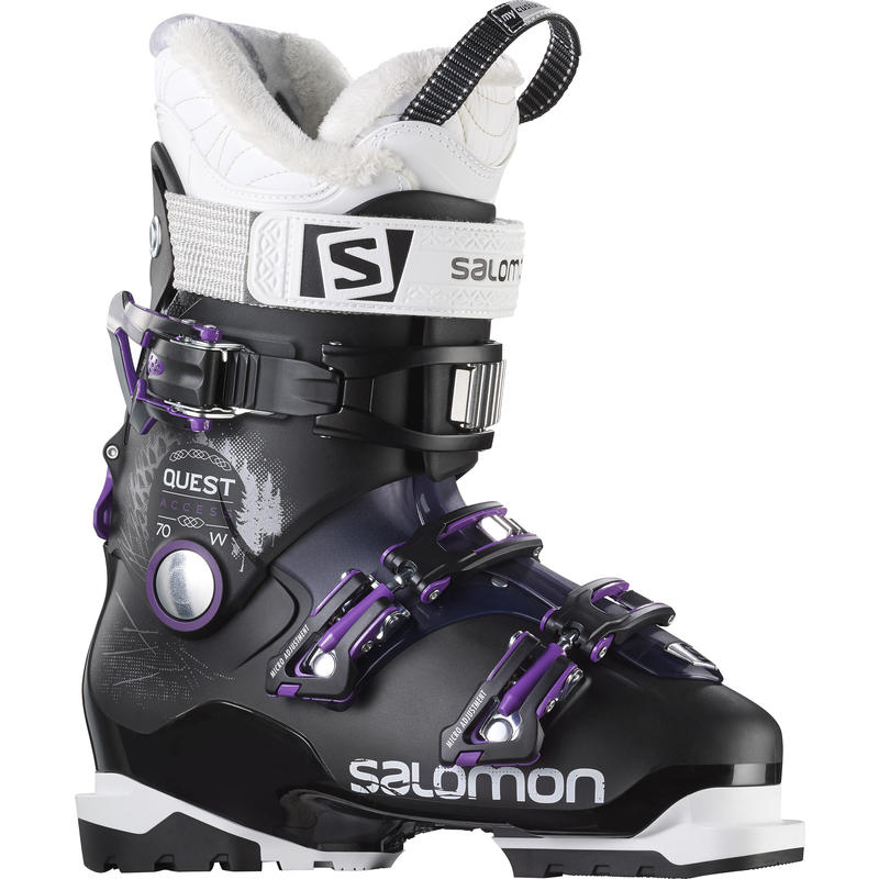 Quest Access 70 Ski Boots Black/Purple