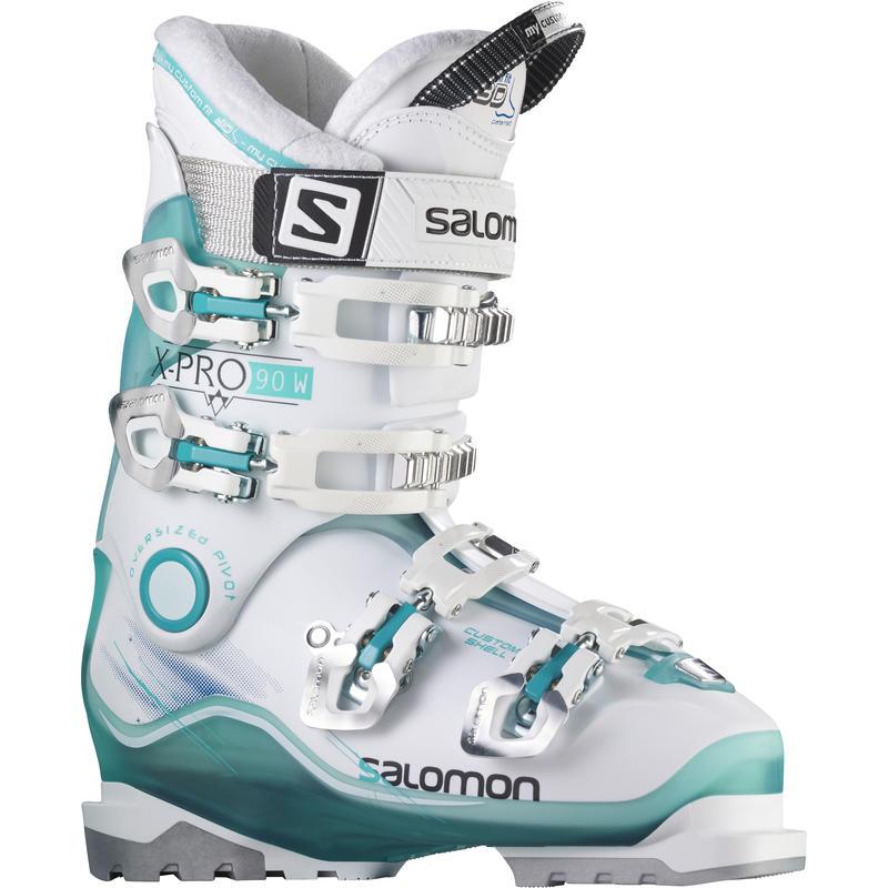 Bottes de ski X-Pro 90 Vert clair/Blanc