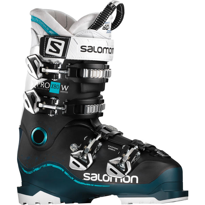 Bottes de ski X Pro X80 Noir/Pétrole