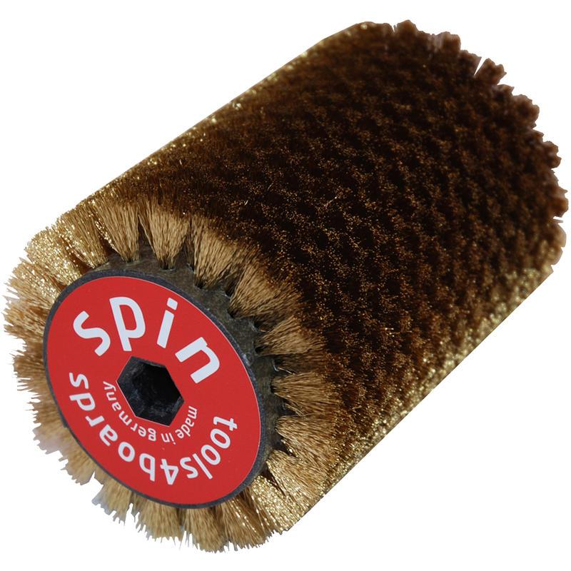 Brosse en laiton Spin de 15 cm