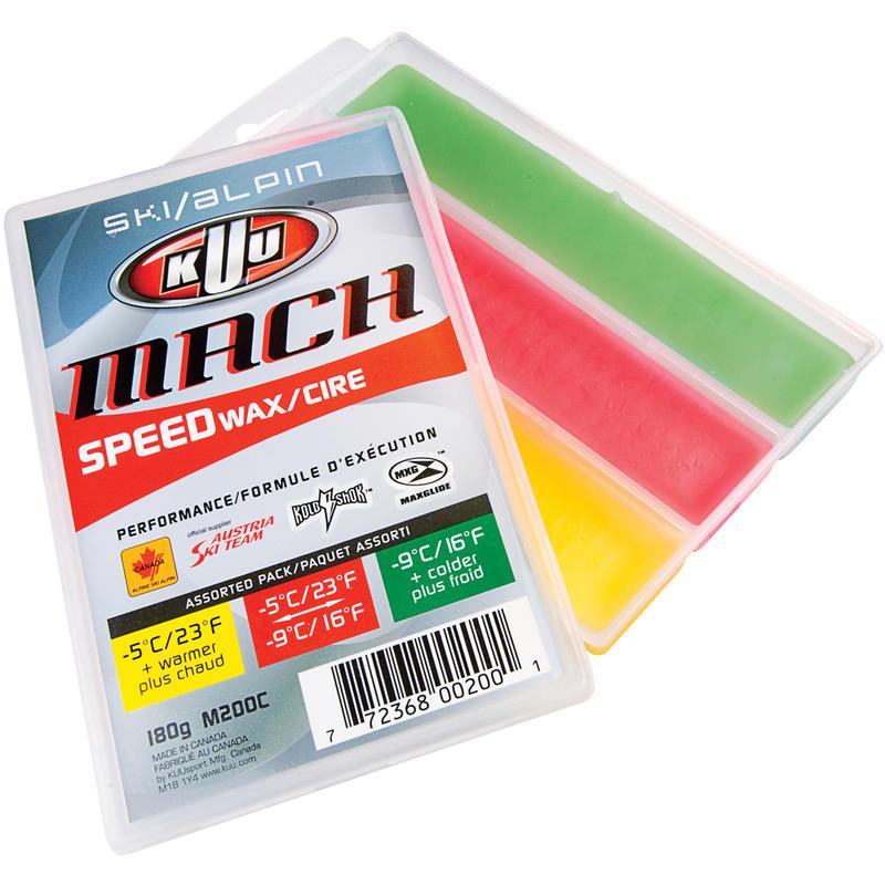 Mach Alpine 3-Temperature Speedwax