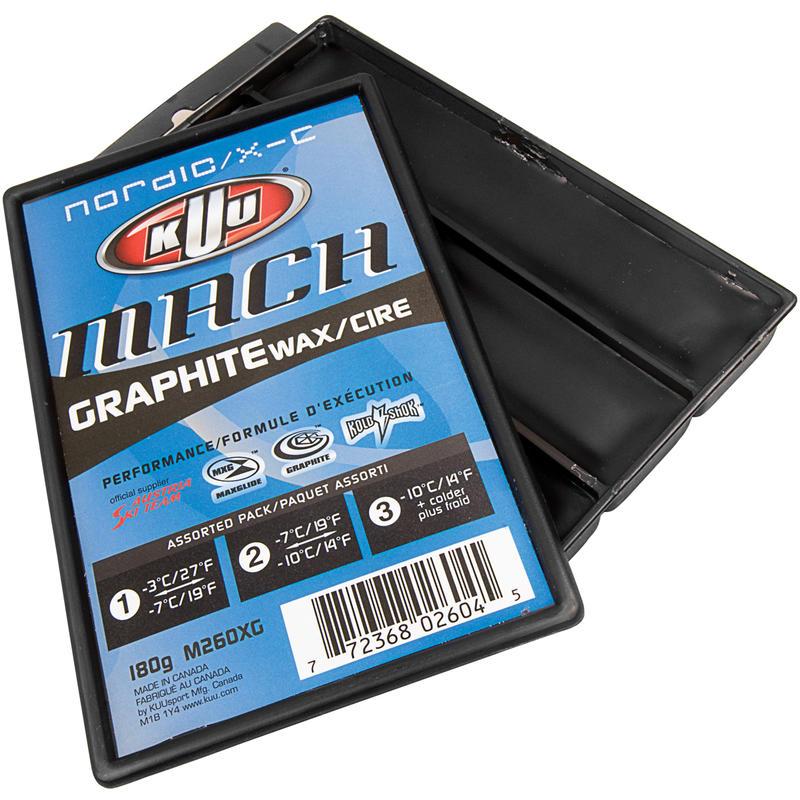 Fart de glisse graphite Mach Nordic 3 températures