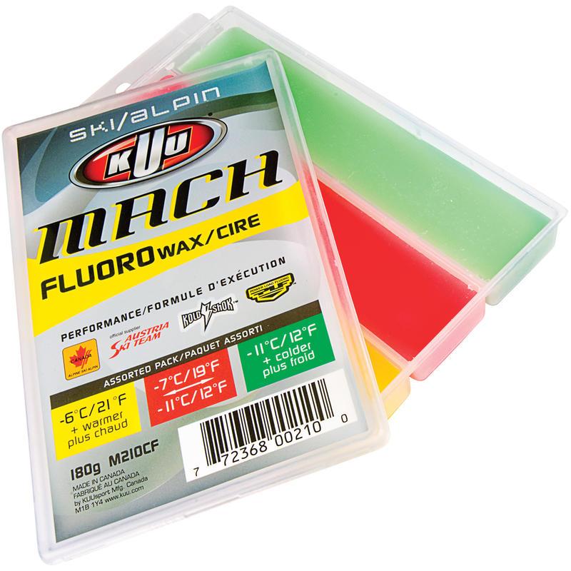 Fart de glisse fluoré Mach Alpine 3 températures