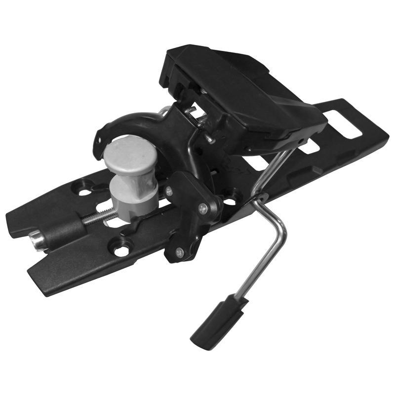 Radical FT Base Plates with Brakes Black