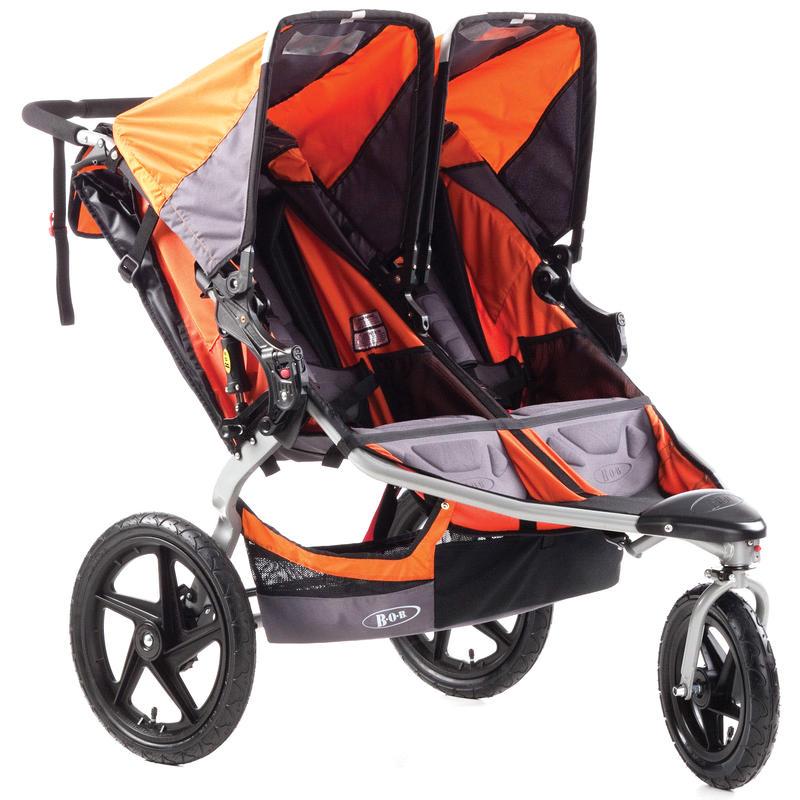 Revolution SE Duallie Stroller Orange