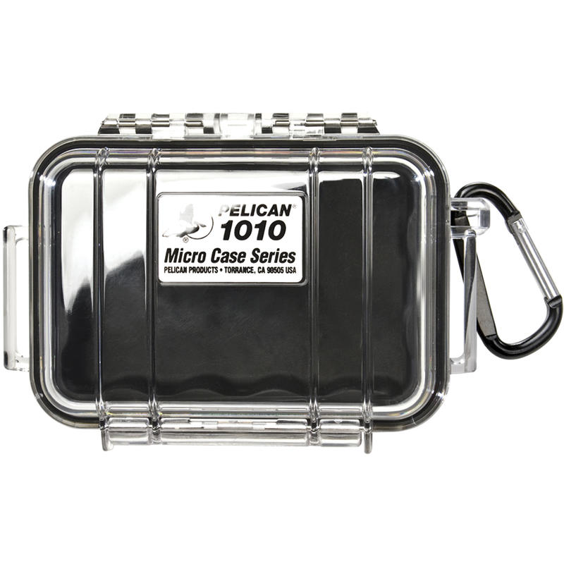 1010 Micro Case Transparent Black