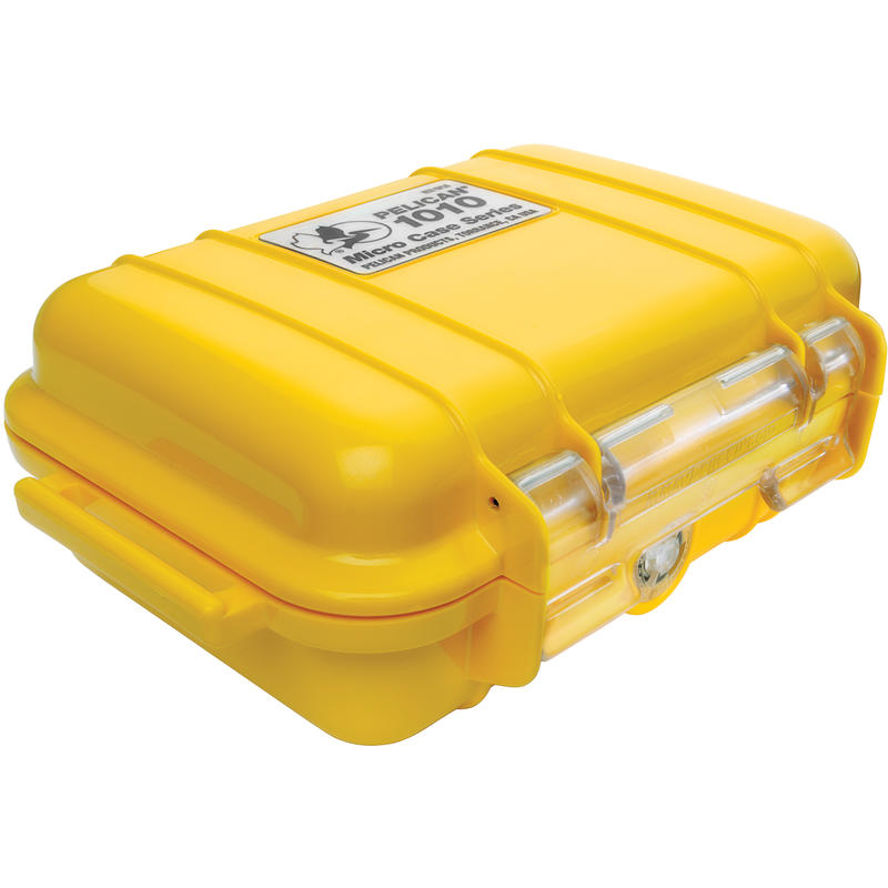 1010 Micro Case Yellow