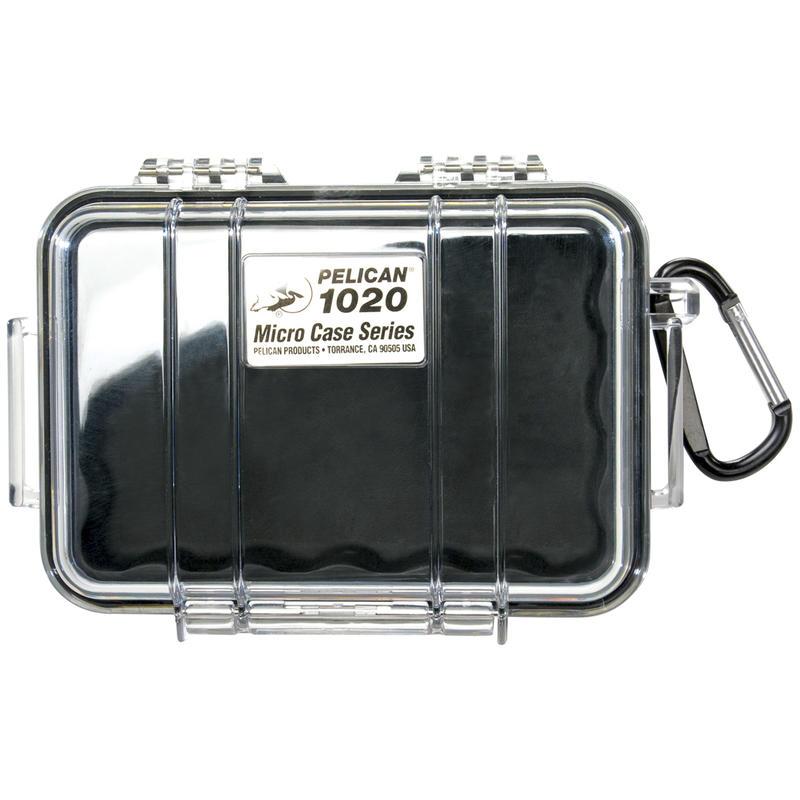 Étui Micro Case 1020 Noir transparent