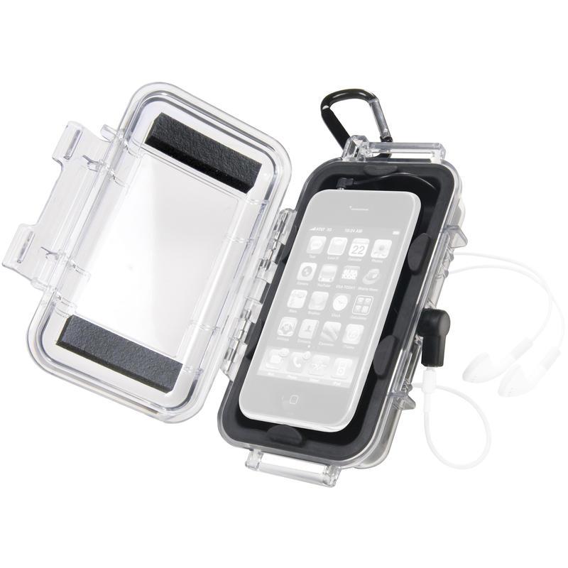 i1015 Micro Case Transparent Black