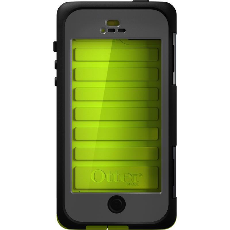 Étui Armor pour iPhone 5 Ardoise/Vert