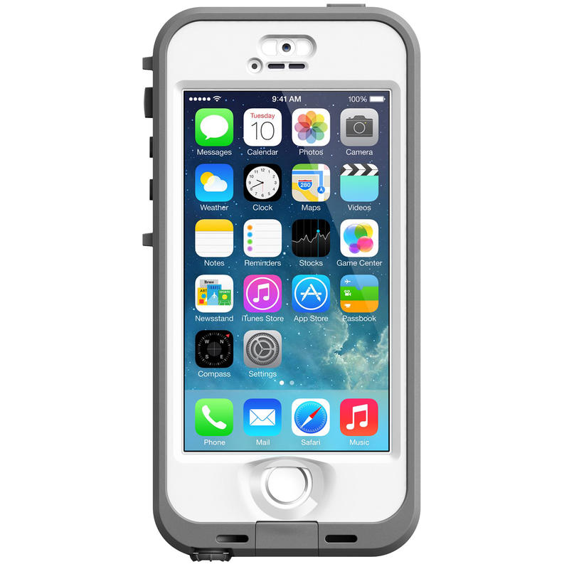 Étui nüüd pour iPhone 5S/5 Transparent/Blanc