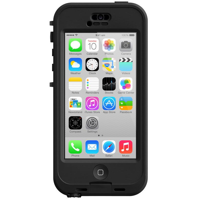 nüüd iPhone 5C Case Clear/Black