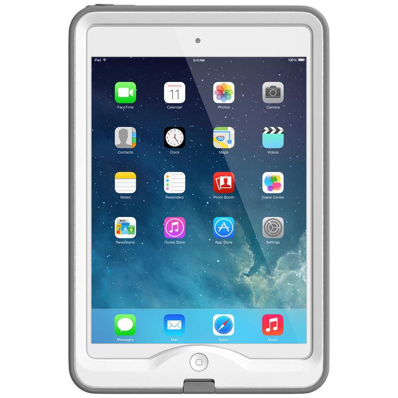Étui nüüd pour iPad mini Blanc/Gris