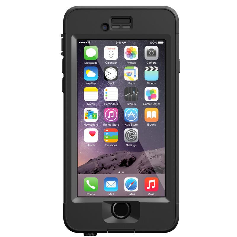 Étui nüüd pour iPhone 6 Transparent/Noir