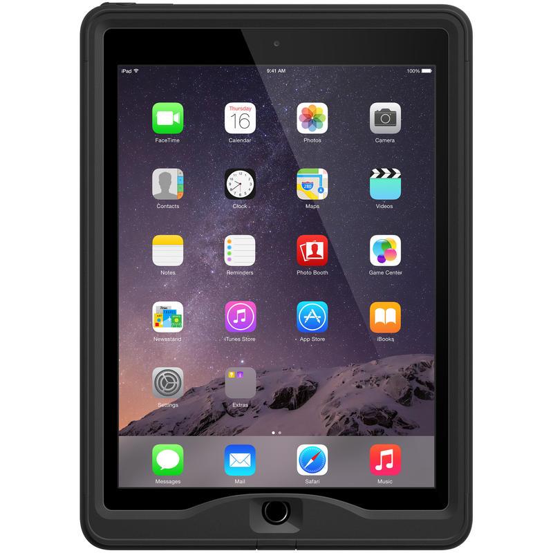 Étui nüüd pour iPad Air 2 Noir