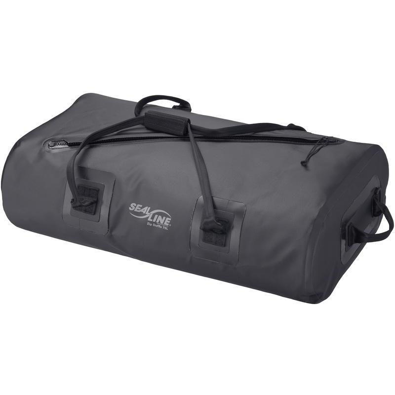 Sac de sport étanche Zip Duffle de 75 litres Noir