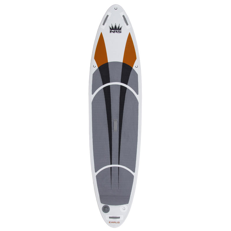 Surf à pagaie Earl 4 Blanc/Orange