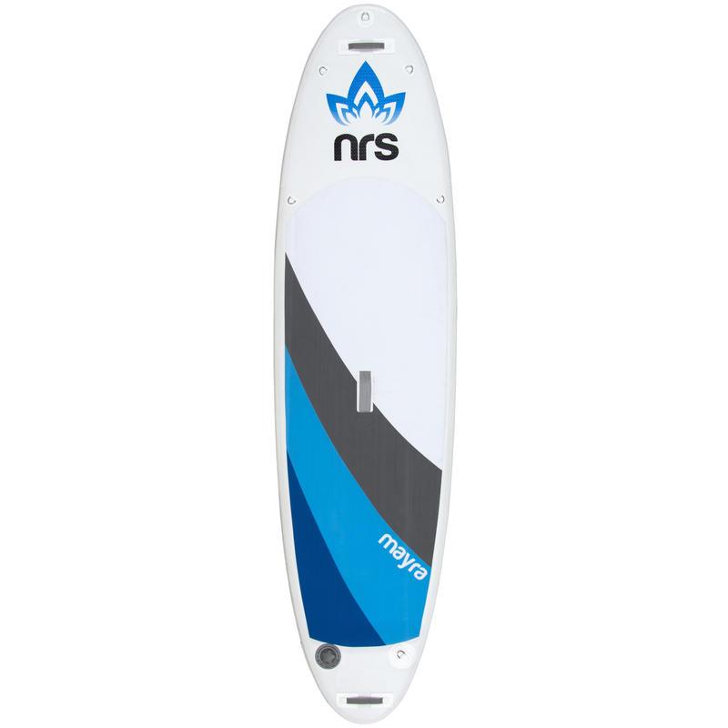 Surf à pagaie Mayra Blanc/Bleu